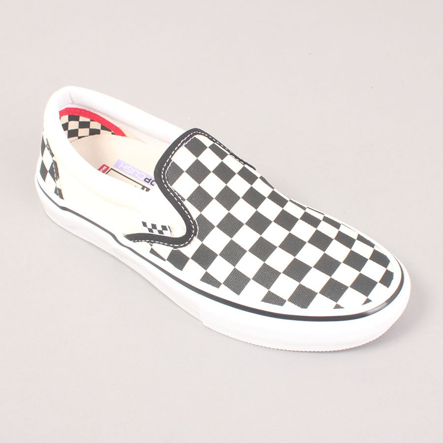 Vans Skate Slip On - Checkerboard Black/Off White