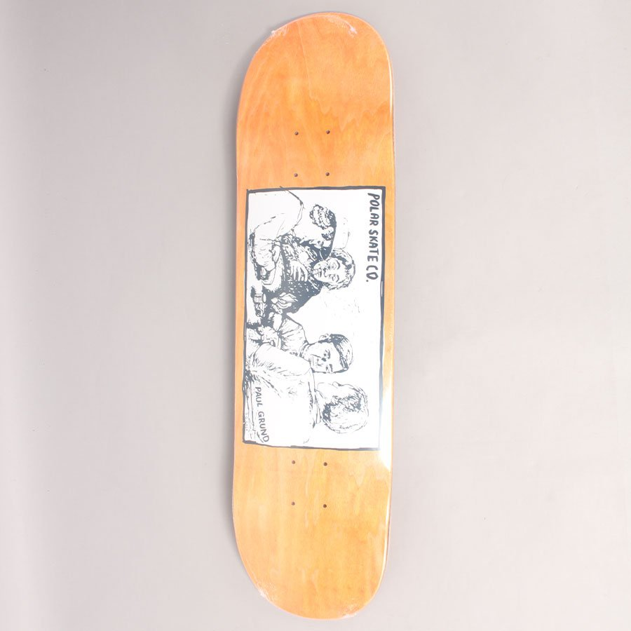 "Polar Paul Grund Cold Steak Orange Skateboard Deck - 8,25"""