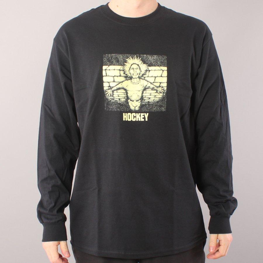 Hockey Crippling LS T-shirt - Black