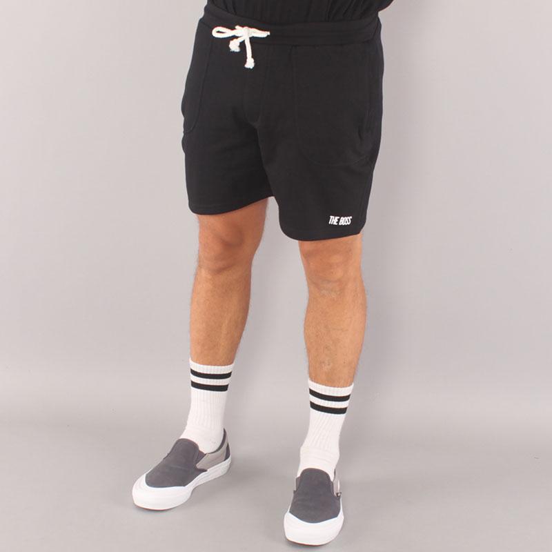 The Boss Mini Logo Sweatshorts - Black