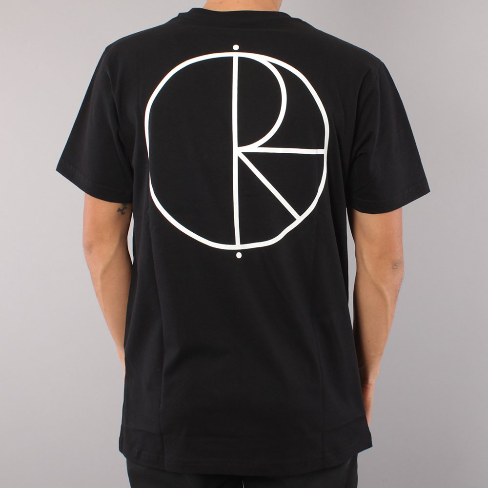 Polar Skate Co Stroke Logo T-shirt - Black
