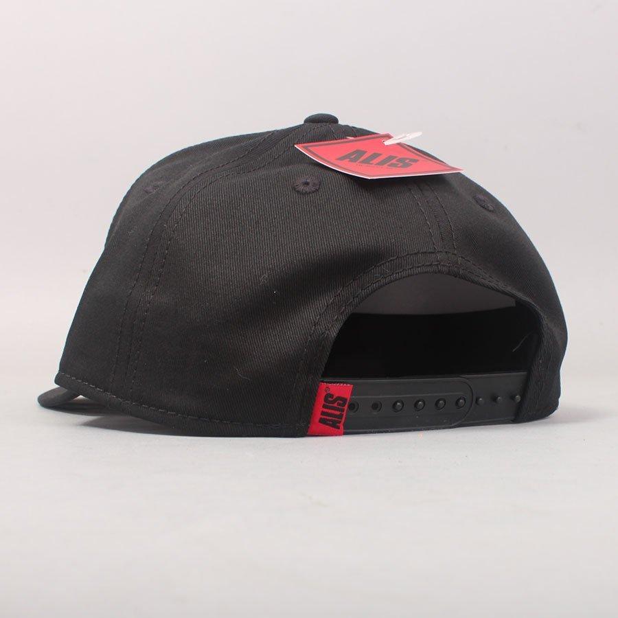 Alis Classic Curved Snapback - Black