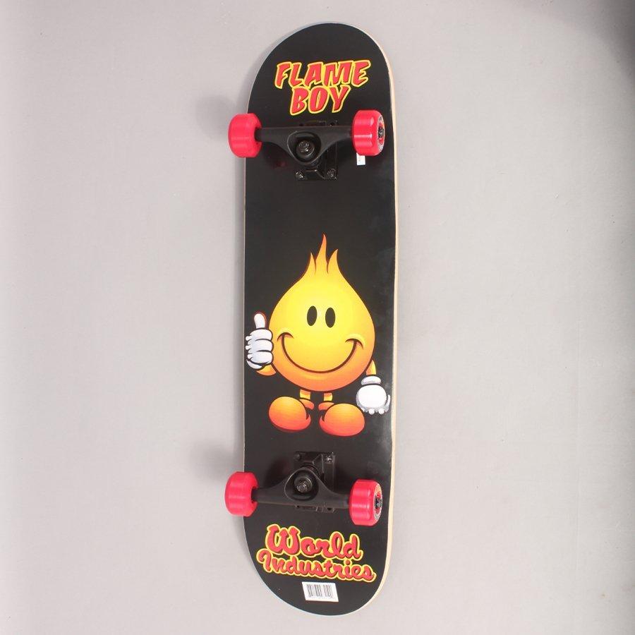 "World Industries Flame Boy Complete Skateboard - 8,00"""