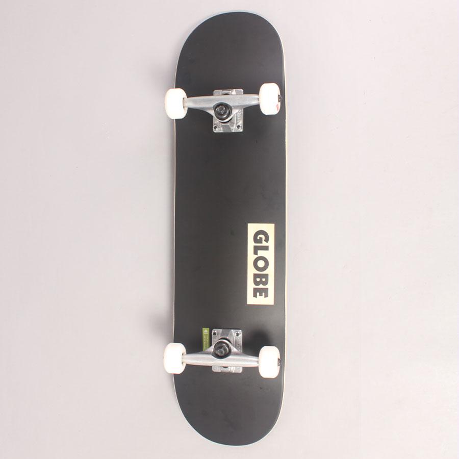 """Globe Goodstock Black Complete Skateboard - 8,125"""""""