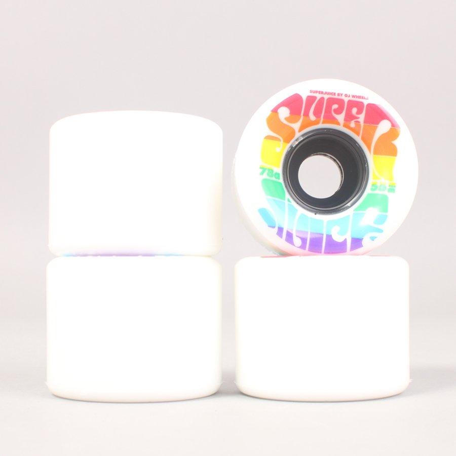 OJ Wheels Rainbow Mini Super Juice Cruiser Wheels - 55mm 78A
