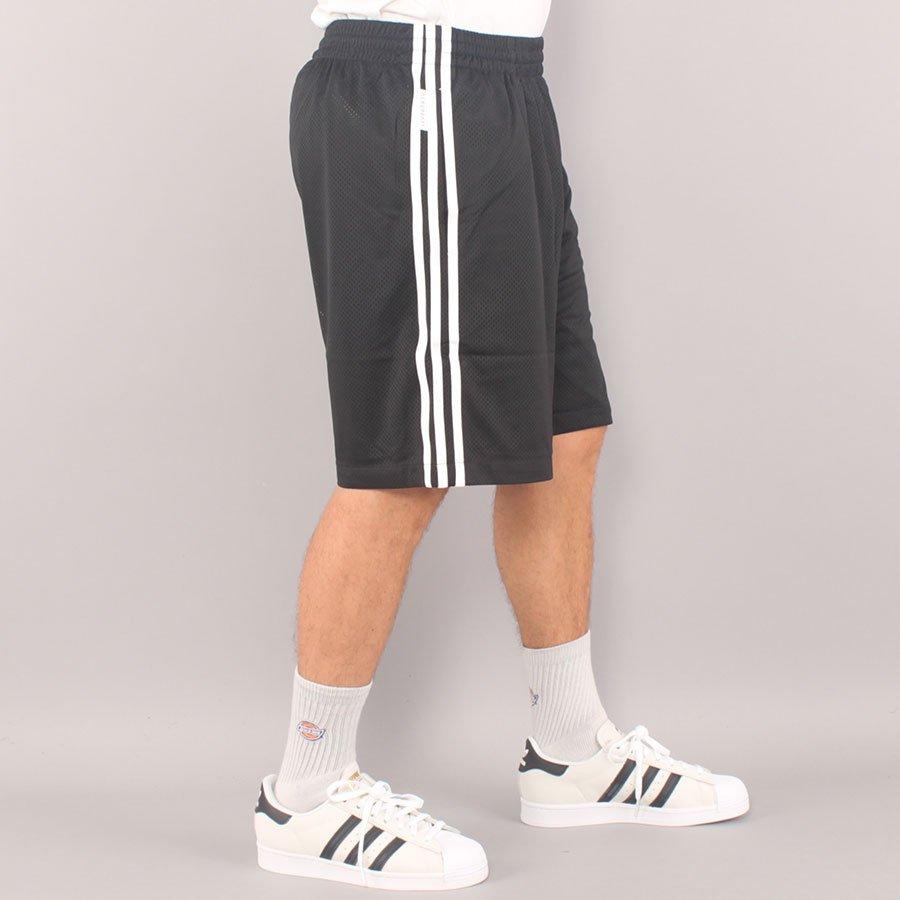 Adidas Skateboarding BBall Shorts - Black/White