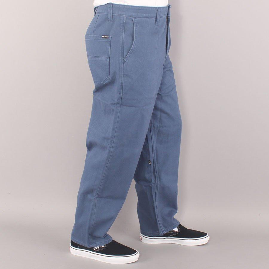 "Volcom Billow Plus Denim 17"" Pants - Smokey Blue"