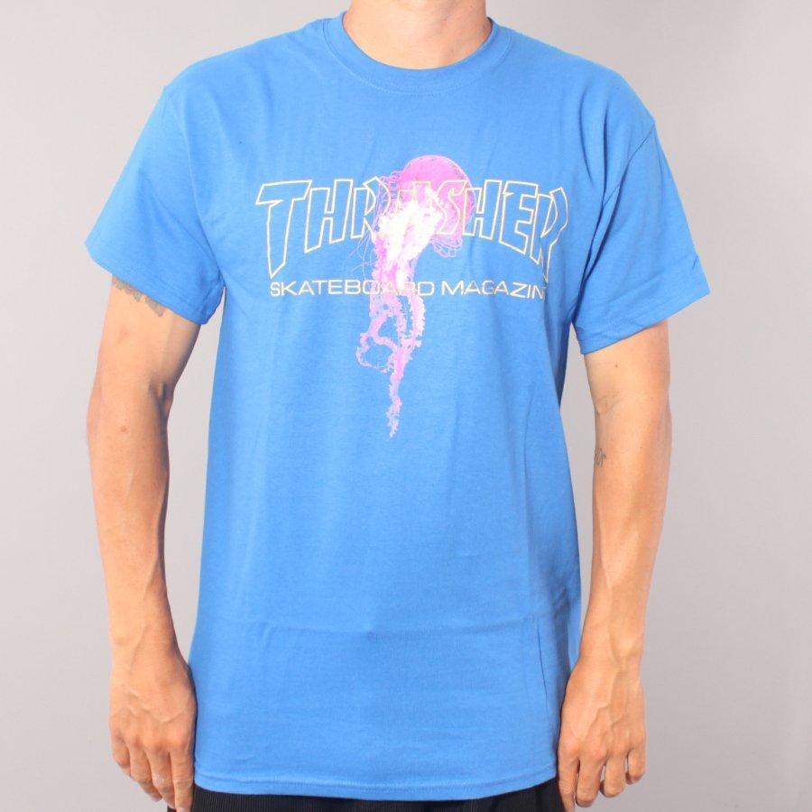 Thrasher Atlantic Drift T-shirt - Royal Blue