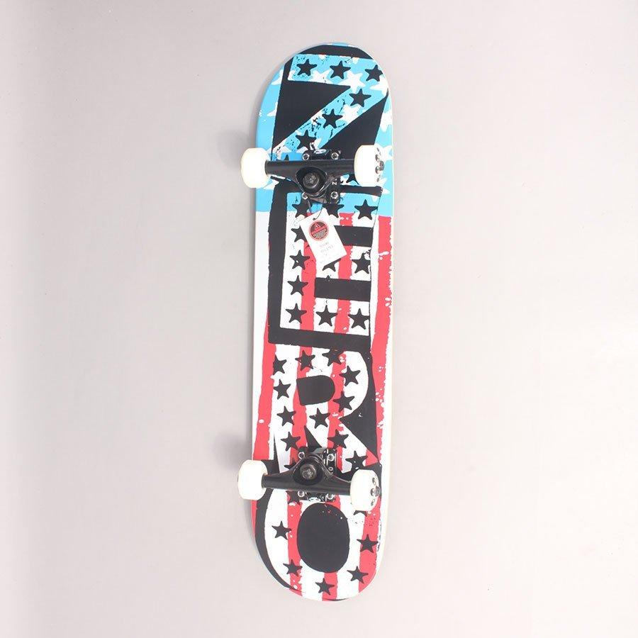"Zero American Punk Complete Skateboard - 7,75"""