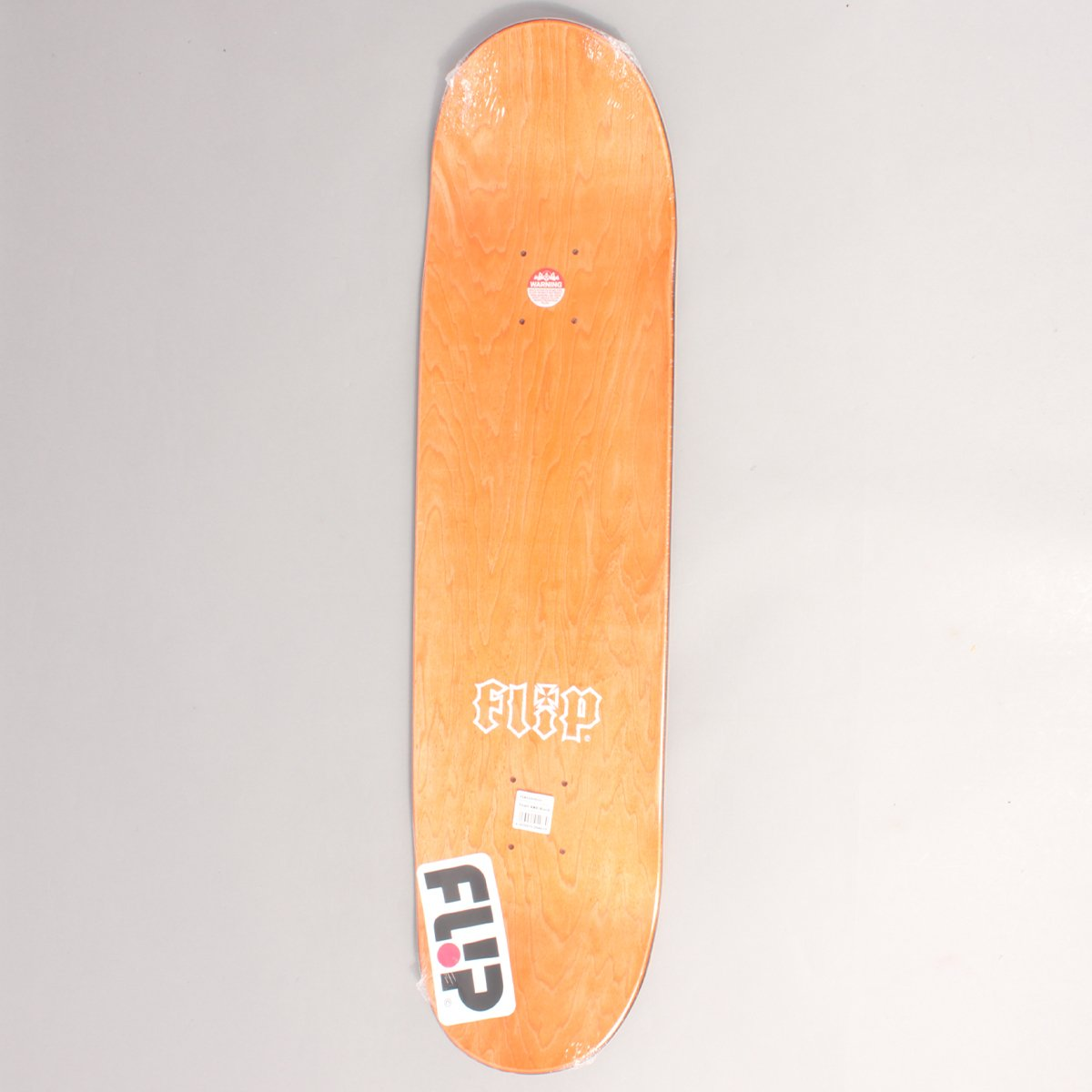 "Flip Team HKD Red Skateboard Deck - 8,13"""