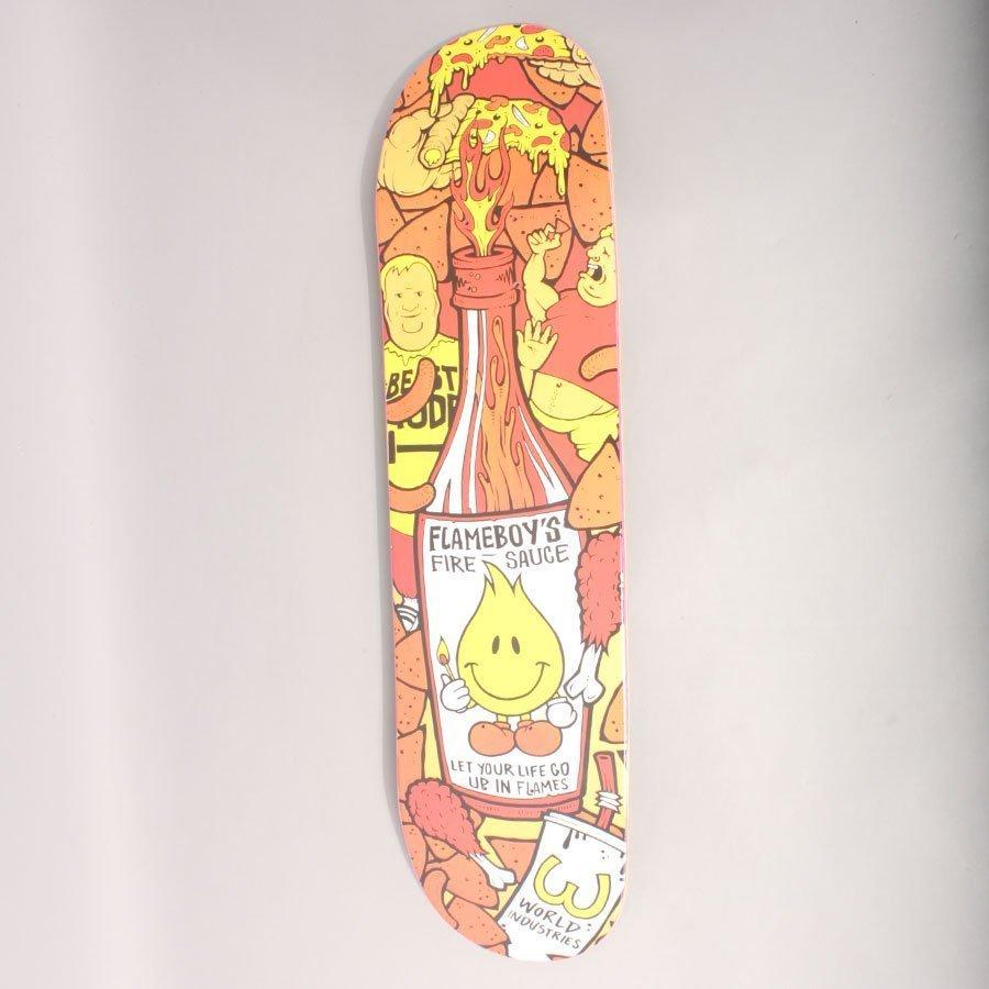 """World Industries Hot Sauce Skateboard Deck - 7,75"""""""