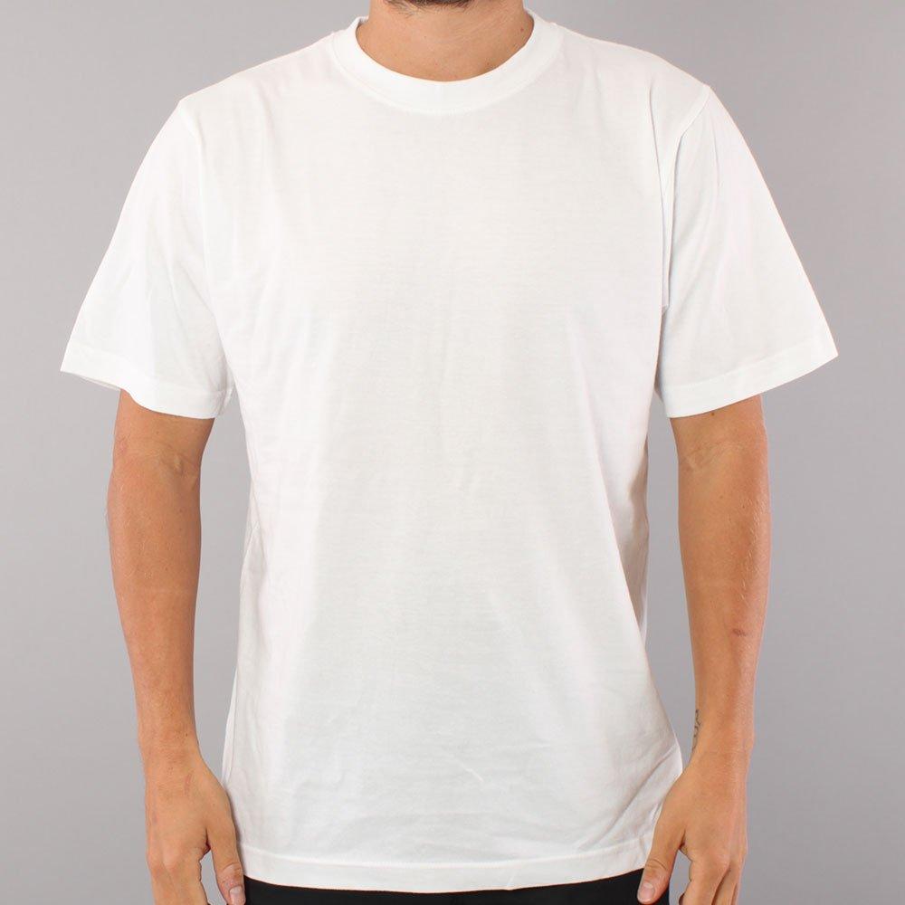 Blank No Logo T-shirt - White
