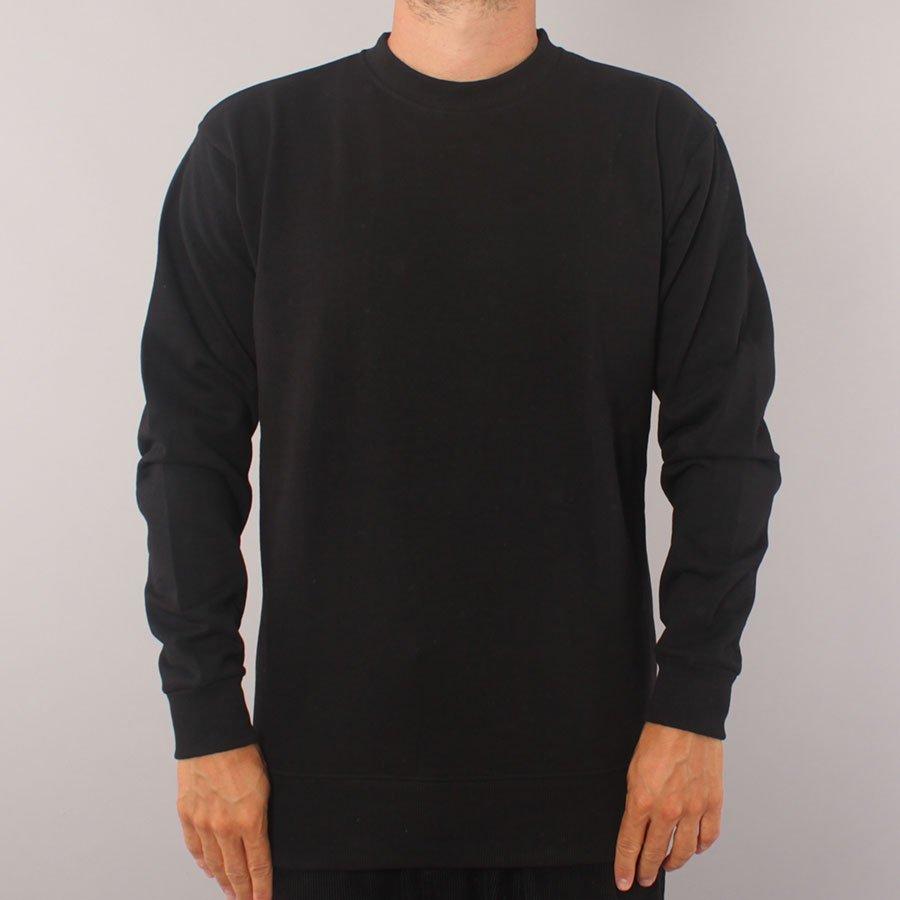 The Boss No Logo Crewneck Sweater - Black