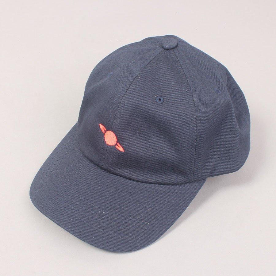 Crack Planet Logo Cap - Navy