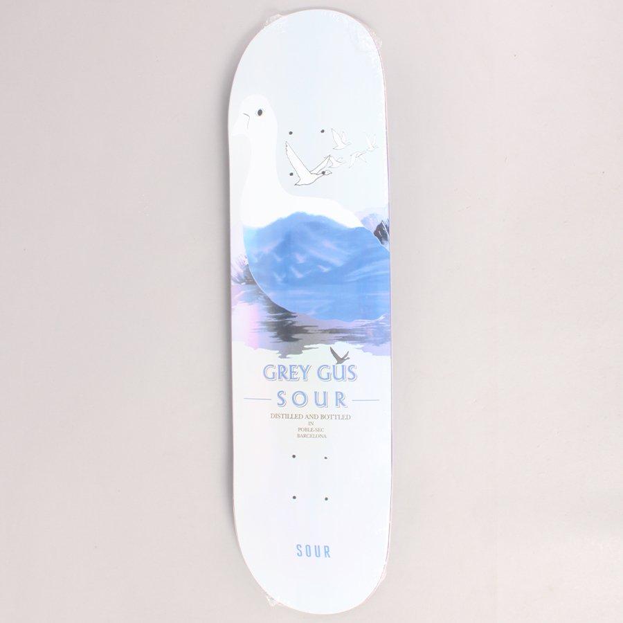 """Sour Gustav Tønnesen Grey Gus Skateboard Deck - 8,25"""""""