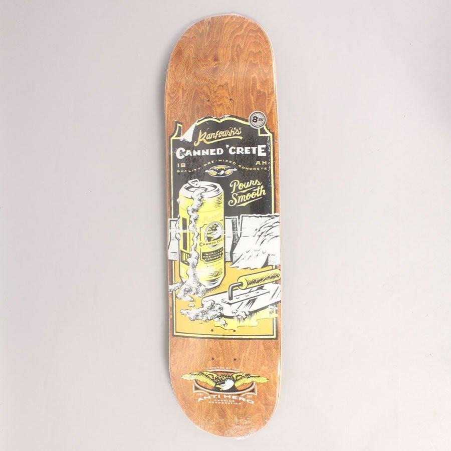 """Anti Hero Kanfoush Cancrete Skateboard Deck - 8,25"""""""