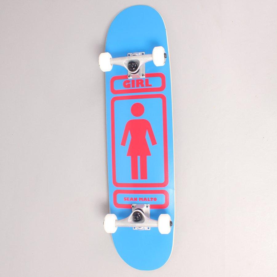 """Girl Sean Malto 93 Til Blue Complete Skateboard - 7,75"""""""