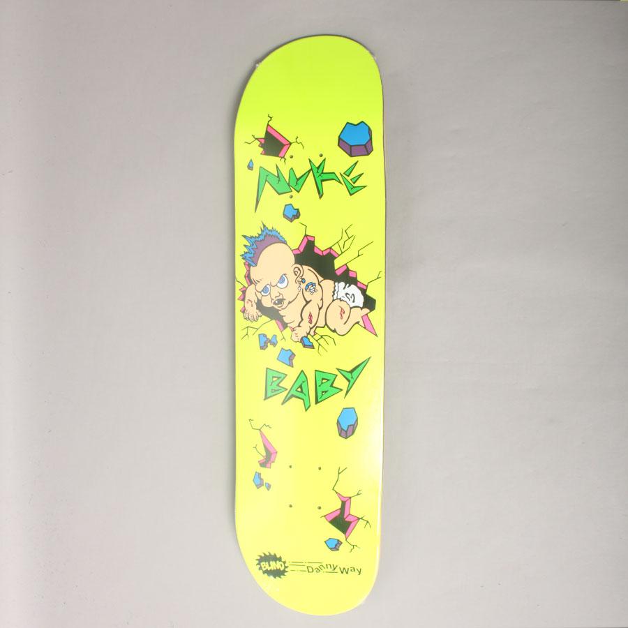 Blind Danny Way Nuke Baby Hit Popicle Skateboard Deck