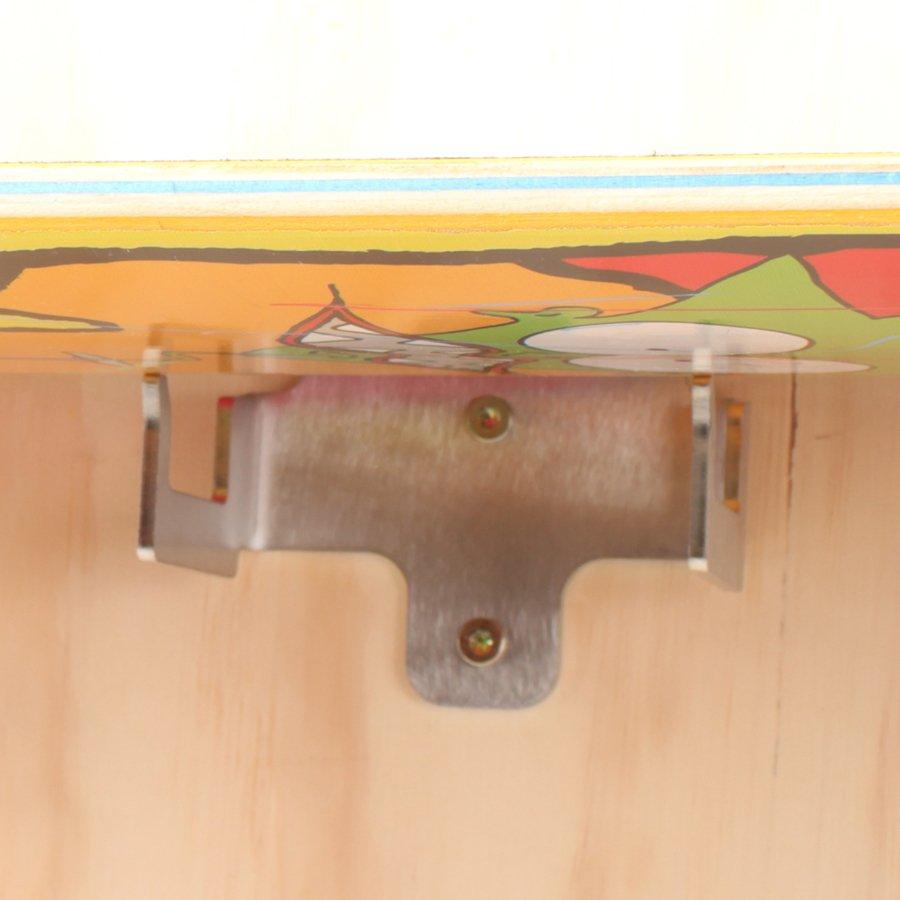 Skateboard Beslag - Triple Skate Hook