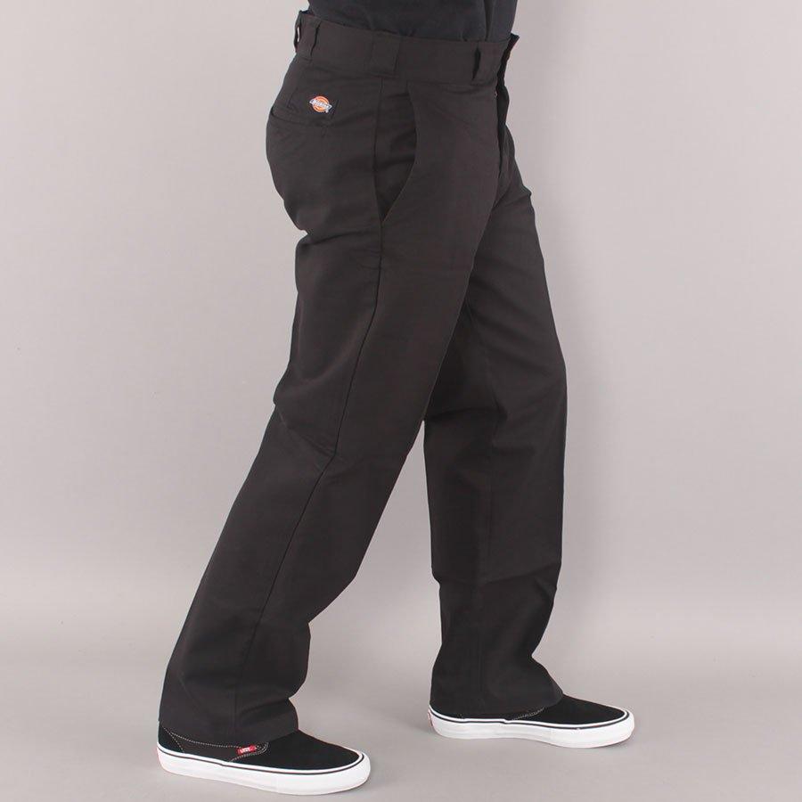 Dickies Slim Straight Flex Work Pant Chino - Black