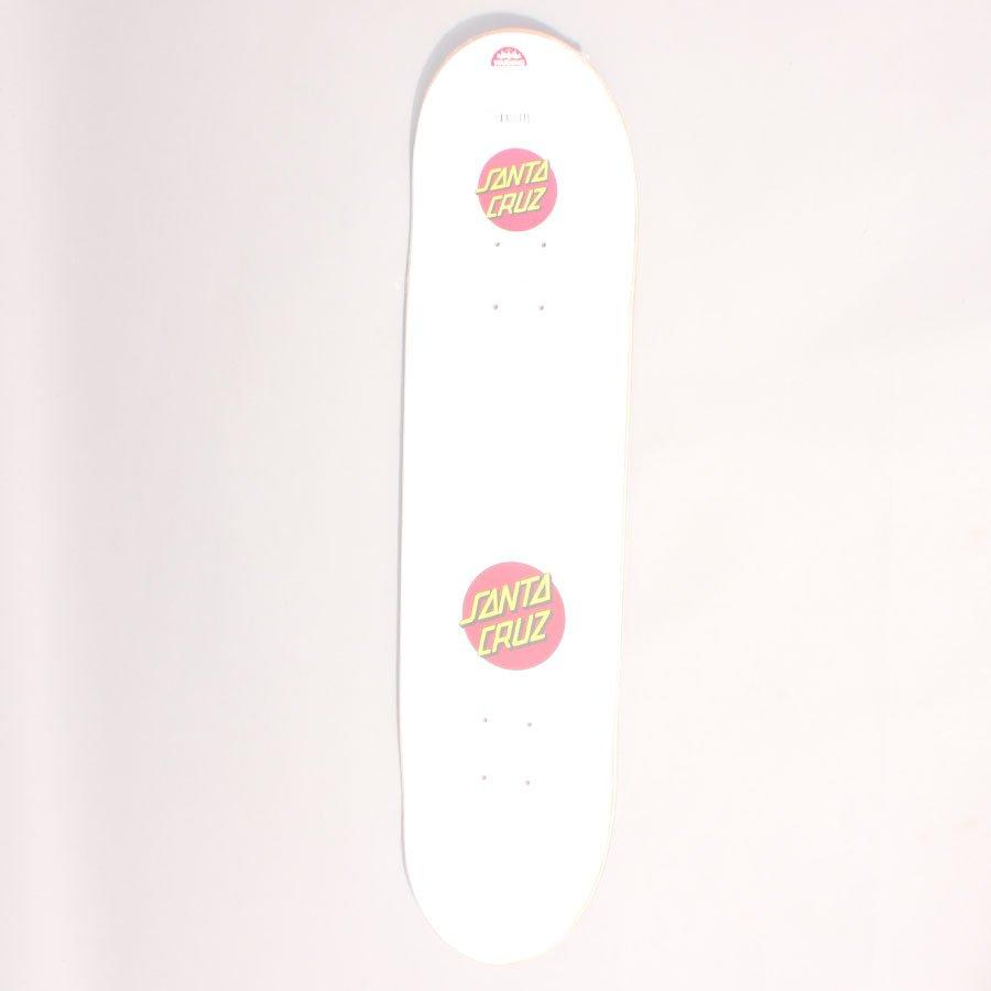 "Santa Cruz Classic Dot Skateboard Deck - 8,00"""
