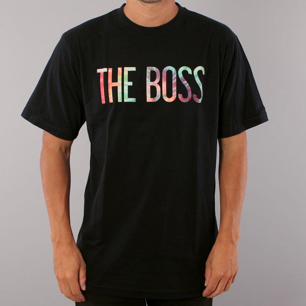 The Boss Tie Dye Logo T-shirt - Black