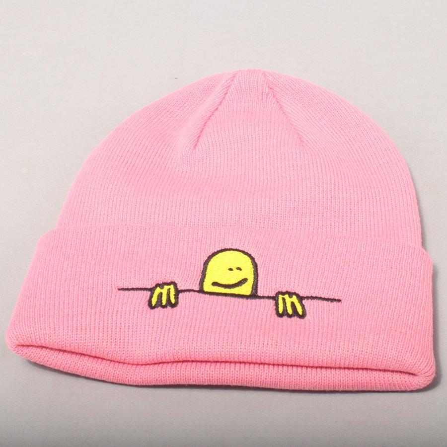 Thrasher Gonz SAD Logo Beanie - Light Pink