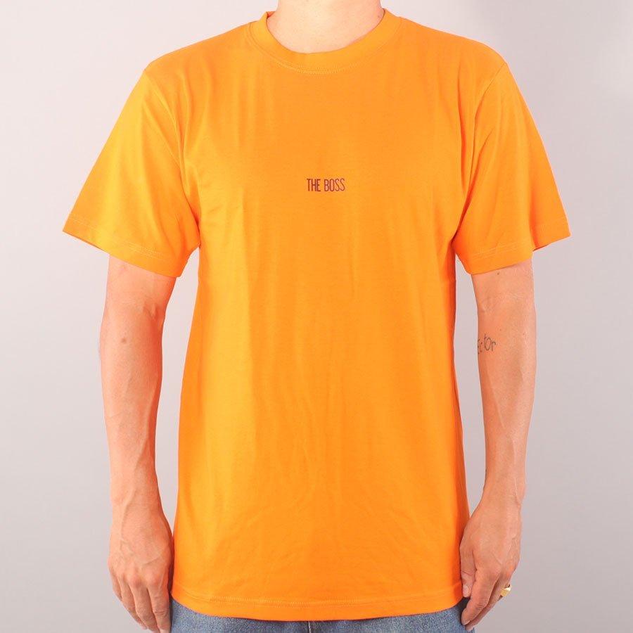 The Boss Mini Logo T-shirt - Orange/Black