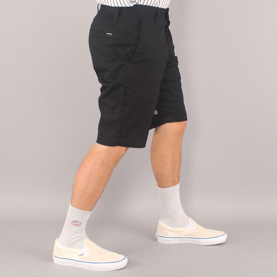Volcom FRCKN Chino Shorts - Black