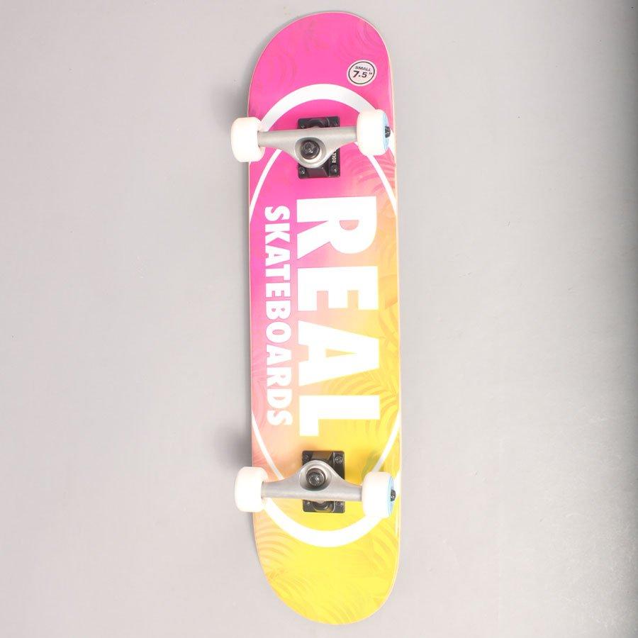 "Real Oval Island Complete Skateboard - 7,5"""