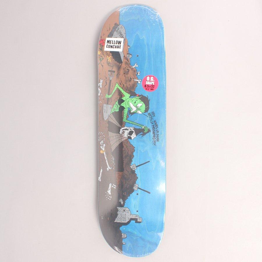 """Baker Rowan Wizardry Skateboard Deck - 8,50"""""""
