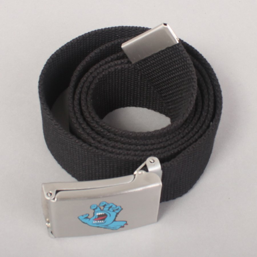 Santa Cruz Screaming Mini Hand Belt - Black