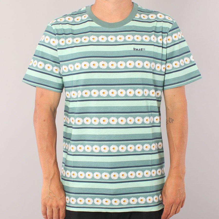 Huf Daisy Stripe T-shirt  - Sage