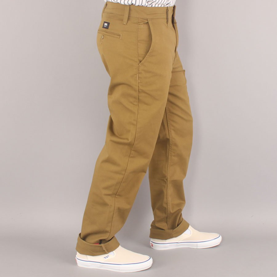 Vans Authentic Relaxed Chino Pants - Nutria-32/32