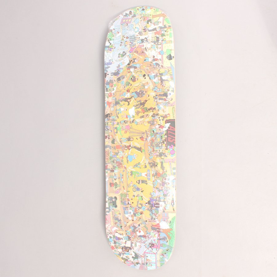 """Alis Wonderland 20 Years Skateboard Deck - 8,50"""""""