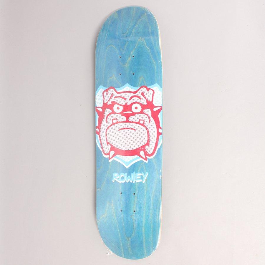 "Free Dome Rowley Trophy Blue Skateboard Deck - 8,375"""