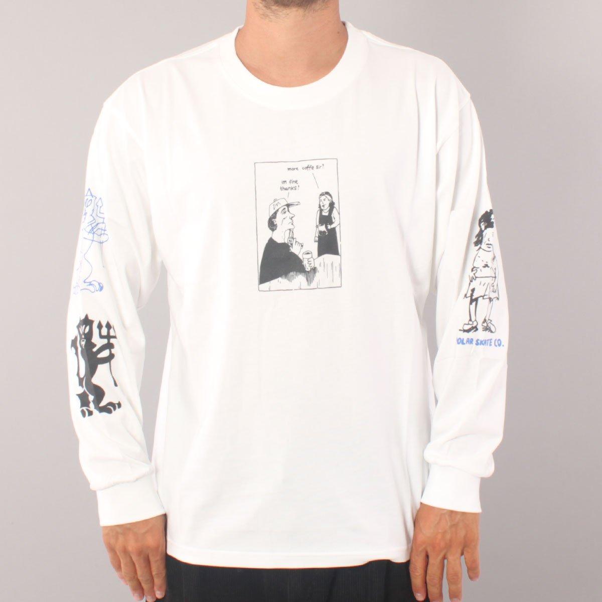 Polar Skate Co Year 2020 LS T-shirt - White