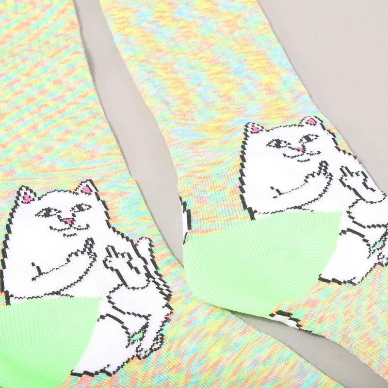 Rip N Dip Lord Nermal Socks - Neon Speckle