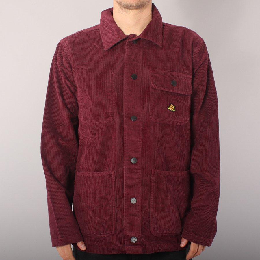 Vans Micro Dazed Corduroy Chore Coat Jacket - Port Royale
