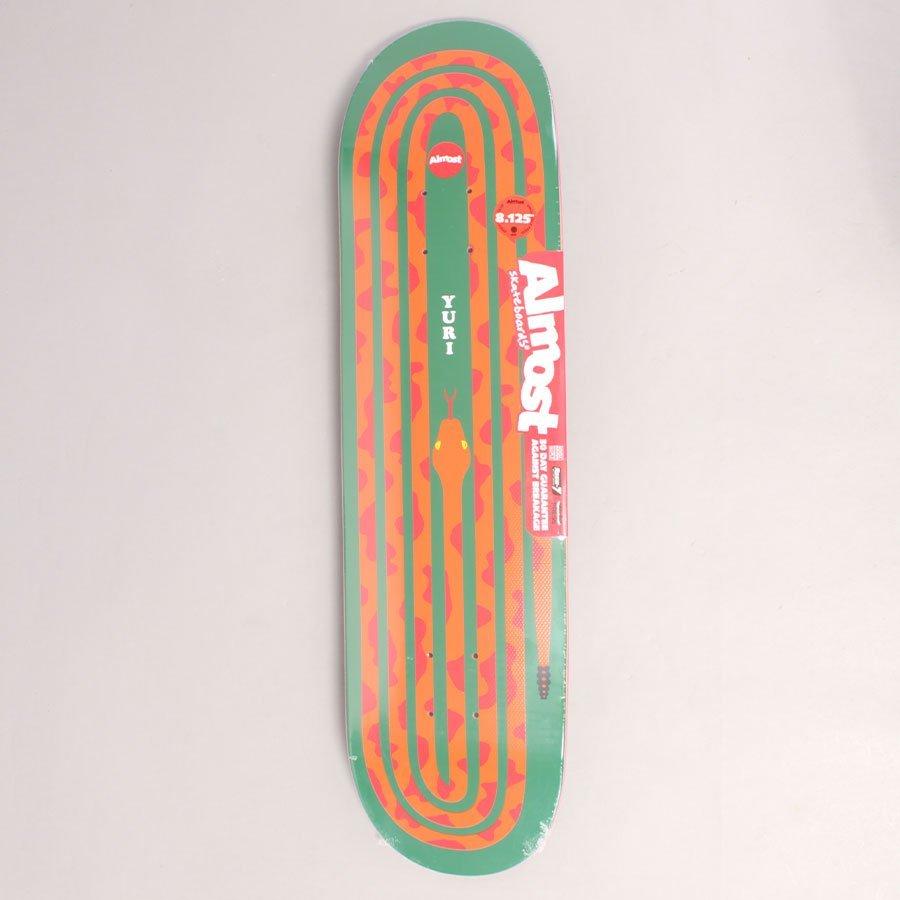 "Almost Yuri Snake Pit R7 Skateboard Deck - 8,125"""