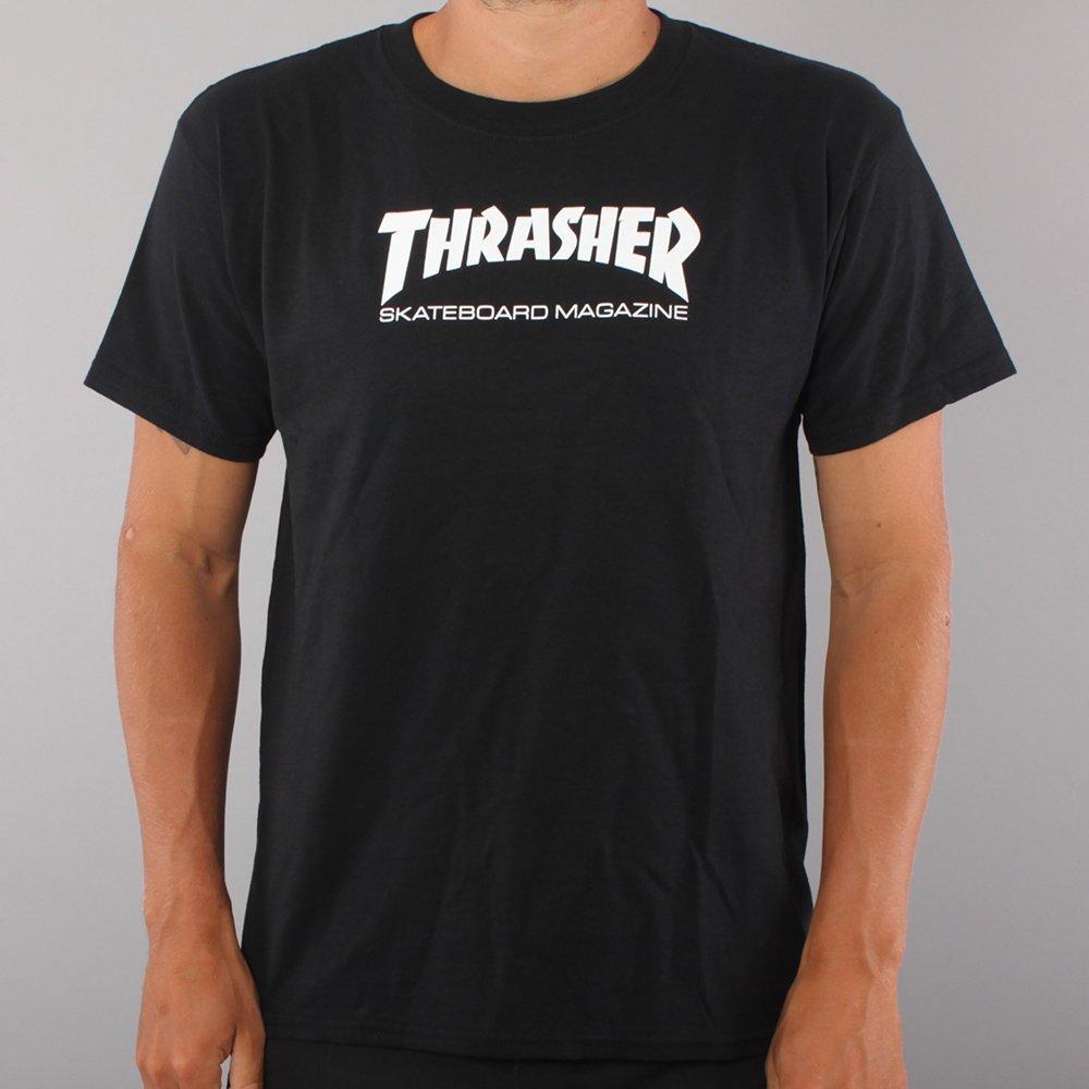 Thrasher Youth Skate Mag T-shirt - Black
