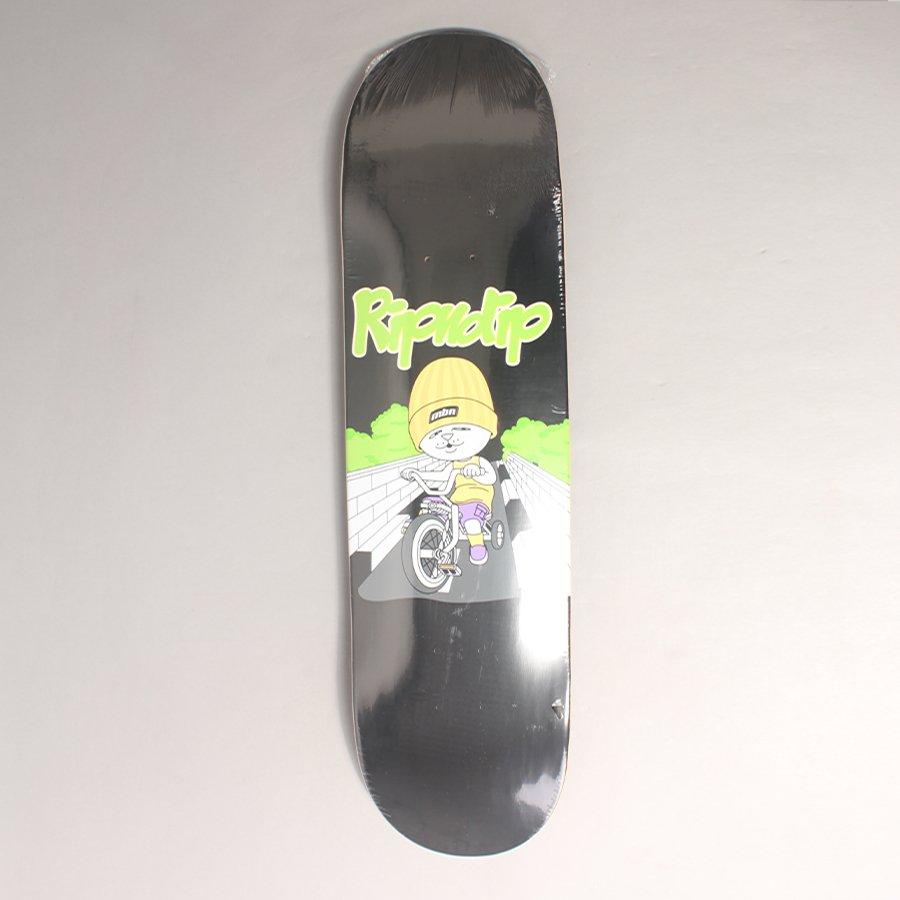 "Rip N Dip Must Be Ridin Skateboard Deck - 8,50"""