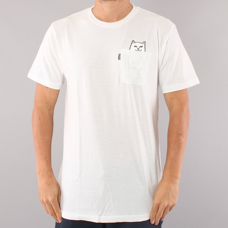 Rip N Dip Lord Nermal Pocket T-shirt - White