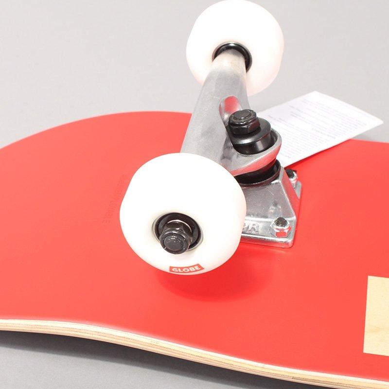 Globe Goodstock Red Complete Skateboard