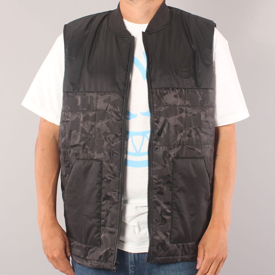 Spitfire Lil Bighead Vest - Black/Camo