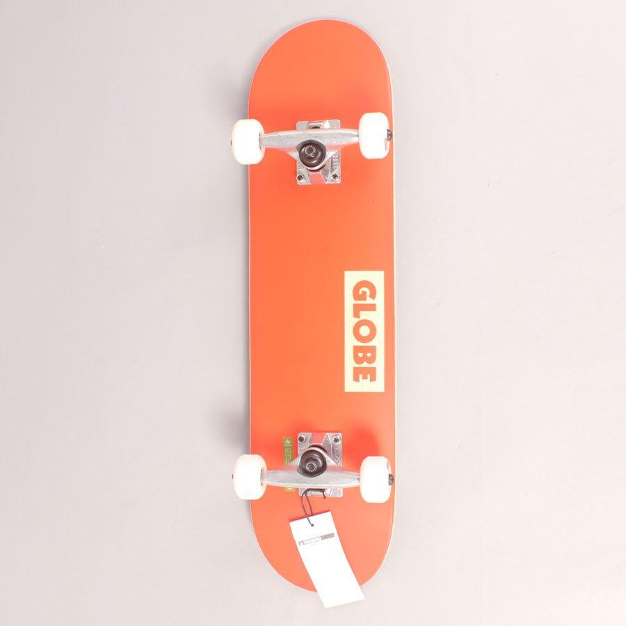 """Globe Goodstock Orange Mini Complete Skateboard - 7,00"""""""