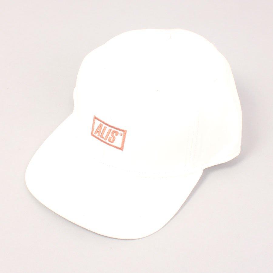 Alis Sherpa Stencil Cap - Off White