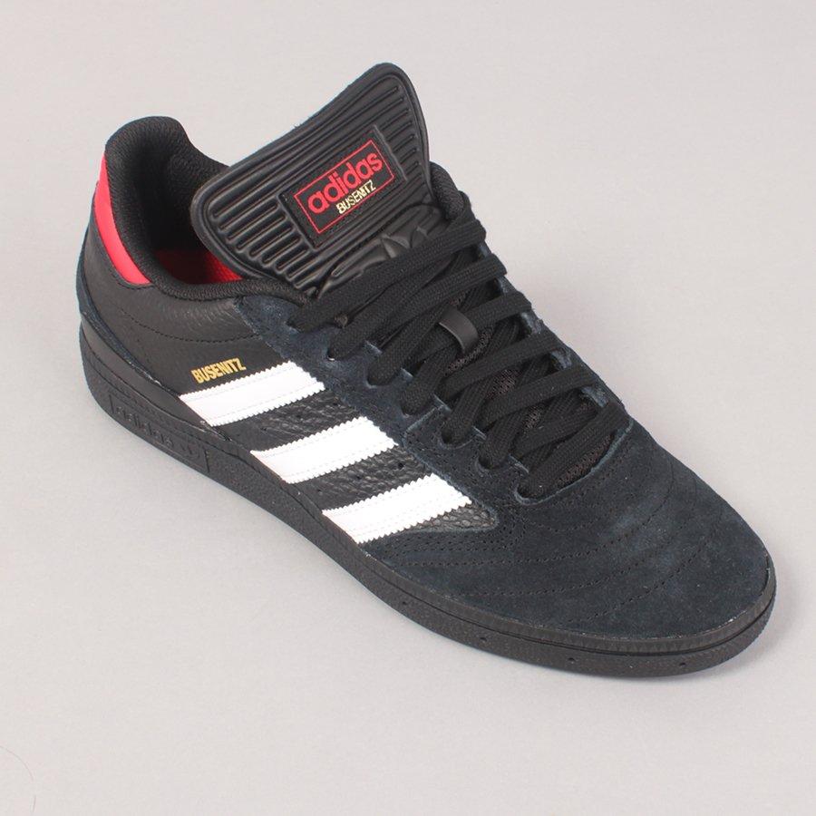 Adidas Skateboarding Busenitz - Black/White/Red