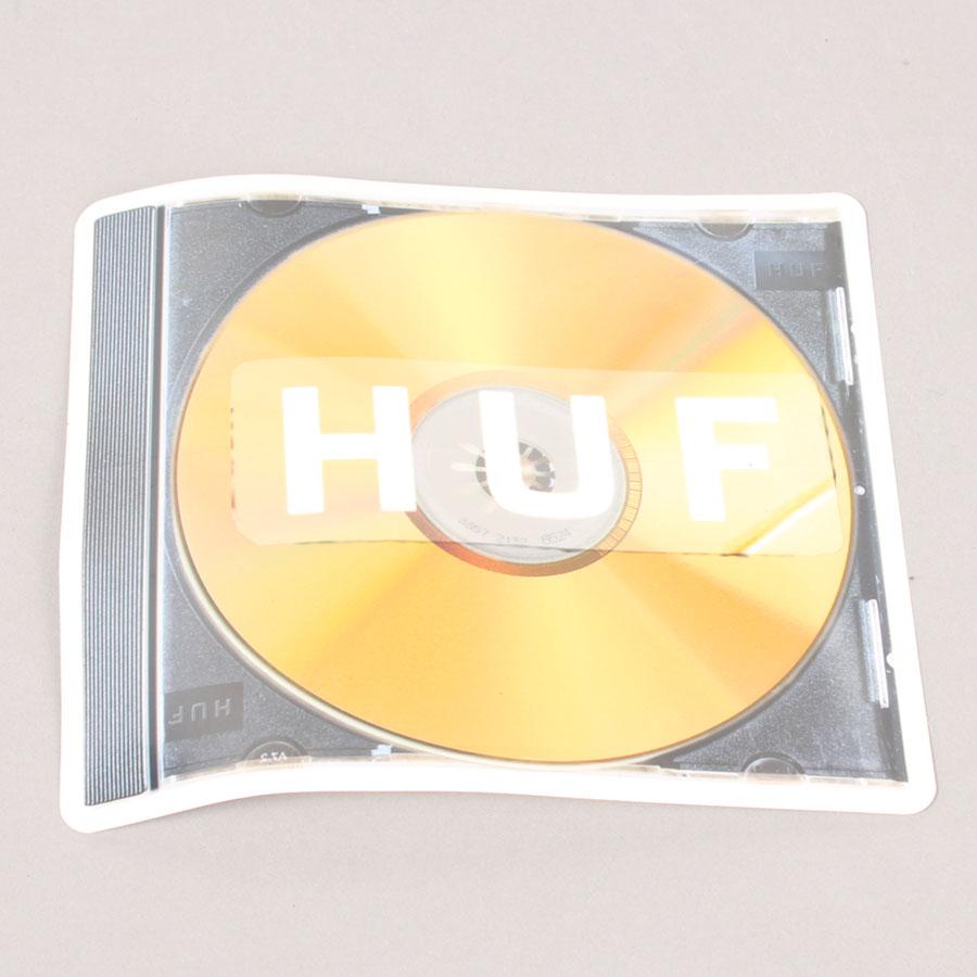 HUF CD Sticker
