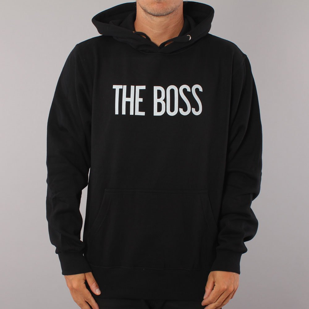 The Boss Logo Hood - Black